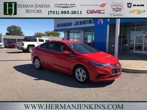 2017 Chevrolet Cruze for sale at Herman Jenkins Used Cars in Union City TN