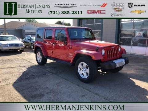 2010 Jeep Wrangler Unlimited for sale at Herman Jenkins Used Cars in Union City TN