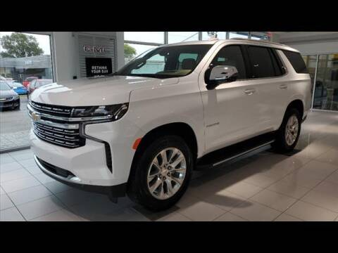 2021 Chevrolet Tahoe for sale at Herman Jenkins Used Cars in Union City TN