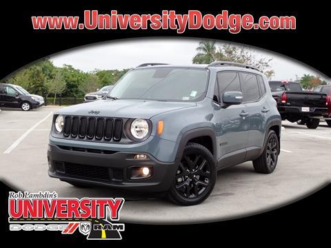 2017 Jeep Renegade for sale in Davie, FL