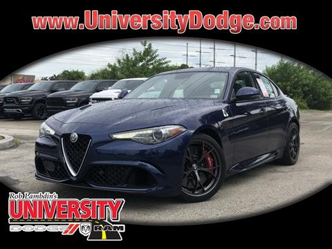 2017 Alfa Romeo Giulia Quadrifoglio for sale in Davie, FL