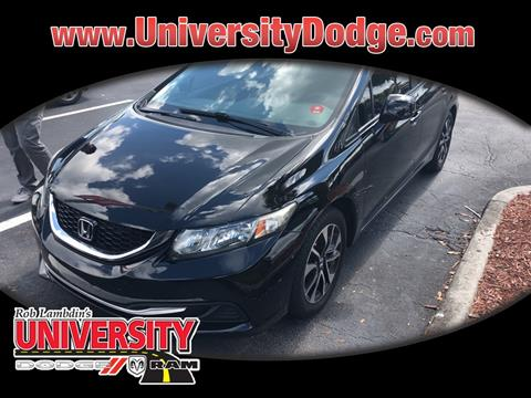 2013 Honda Civic for sale in Davie, FL