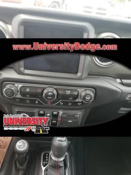 2019 Jeep Wrangler Unlimited Rubicon for sale at ROB LAMBDIN'S UNIVERSITY DODGE in Davie FL