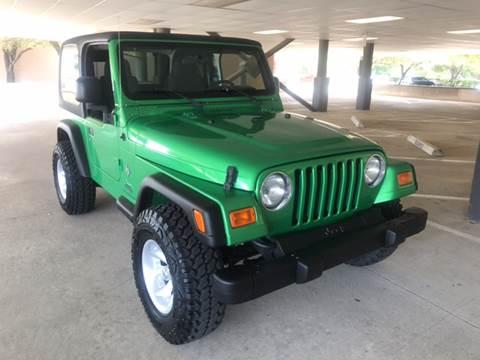 2004 jeep wrangler for sale in texas. Black Bedroom Furniture Sets. Home Design Ideas