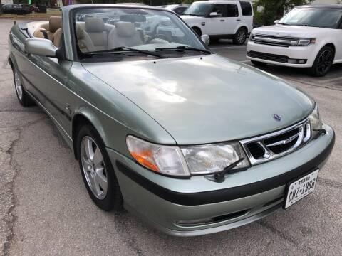 2002 Saab 9-3 for sale at PRESTIGE AUTOPLEX LLC in Austin TX