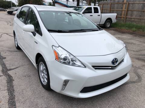 2013 Toyota Prius v for sale at PRESTIGE AUTOPLEX LLC in Austin TX