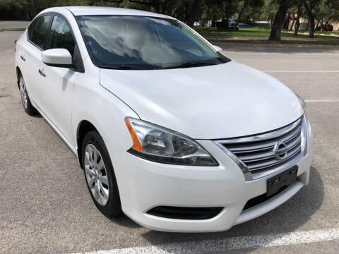 2013 Nissan Sentra for sale at PRESTIGE AUTOPLEX LLC in Austin TX