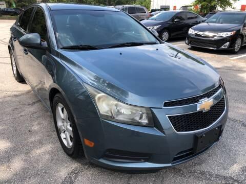 2012 Chevrolet Cruze for sale at PRESTIGE AUTOPLEX LLC in Austin TX