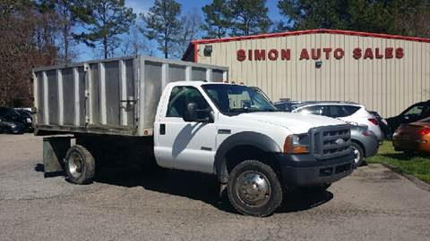 2005 Ford F-550 for sale in Clayton, NC