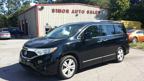 2012 Nissan Quest for sale in Clayton, NC
