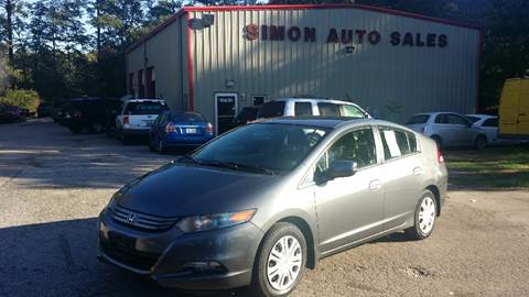 2010 Honda Insight for sale in Clayton, NC