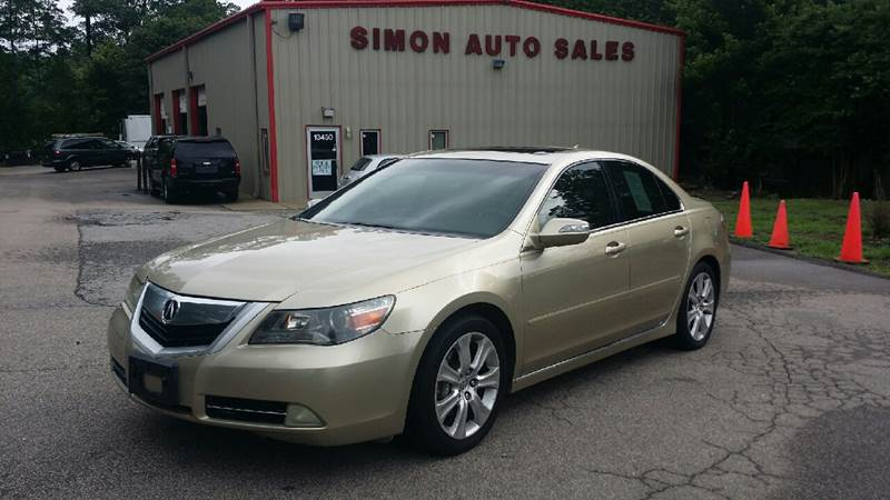 Acura RL SHAWD In Clayton NC Simons Auto Sales - Acura rl for sale