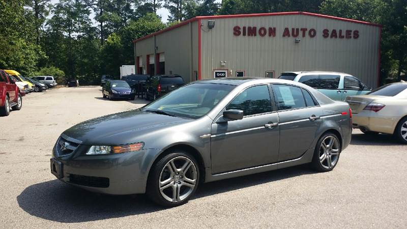 Acura TL In Clayton NC Simons Auto Sales - 04 acura tl for sale