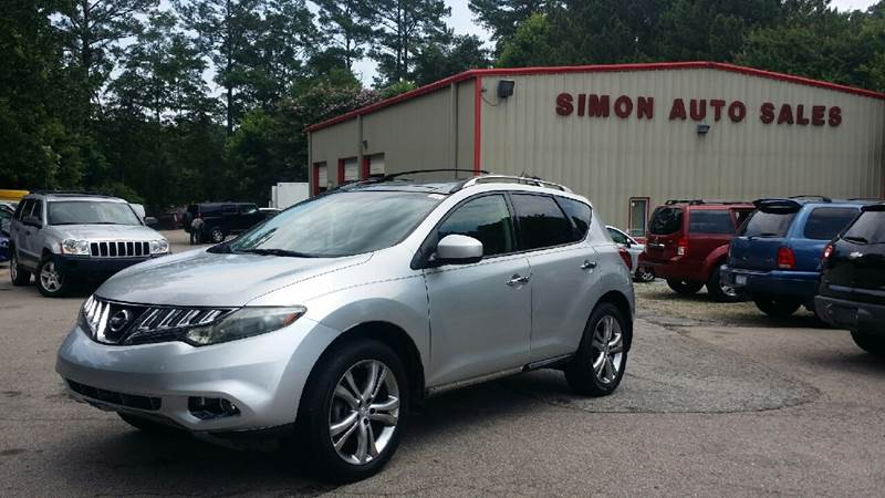 2009 Nissan Murano for sale at Simon's Auto Sales in Clayton NC