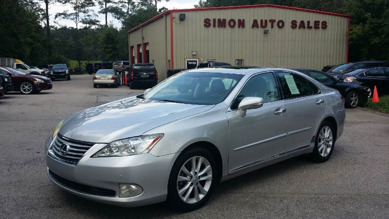 2011 Lexus ES 350 For Sale At Simonu0027s Auto Sales In Clayton NC