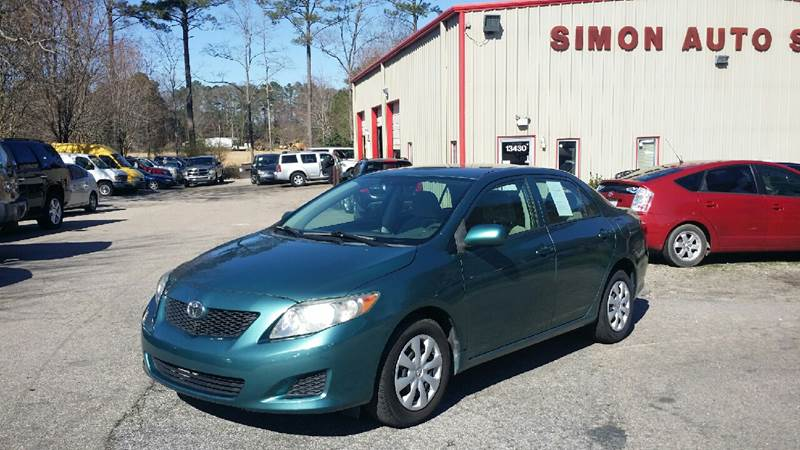 2010 Toyota Corolla for sale at Simon's Auto Sales in Clayton NC