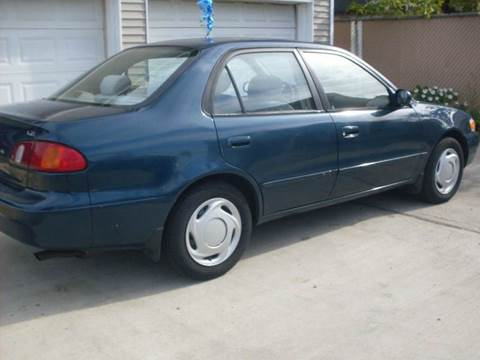 2000 Toyota Corolla for sale at Flag Motors in Islip Terrace NY