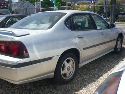 2002 Chevrolet Impala for sale at Flag Motors in Islip Terrace NY