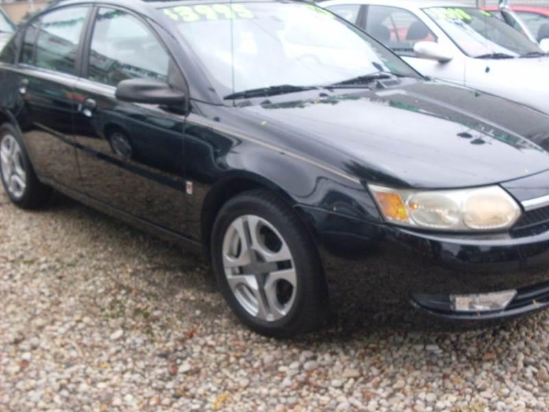 2004 saturn ion 3 4dr sedan