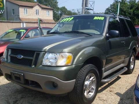 2003 Ford Explorer Sport for sale at Flag Motors in Islip Terrace NY