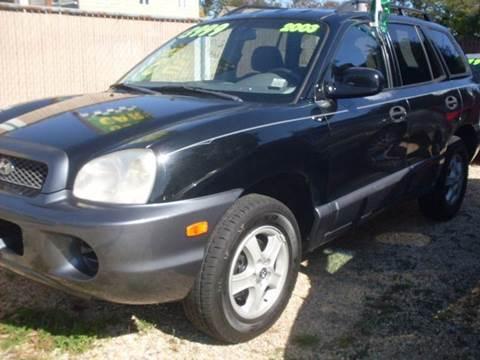 2003 Hyundai Santa Fe for sale at Flag Motors in Islip Terrace NY