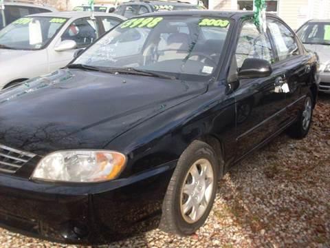 2003 Kia Spectra for sale at Flag Motors in Islip Terrace NY