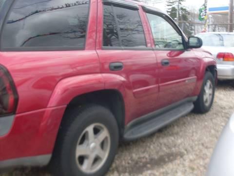 2003 Chevrolet TrailBlazer for sale at Flag Motors in Islip Terrace NY