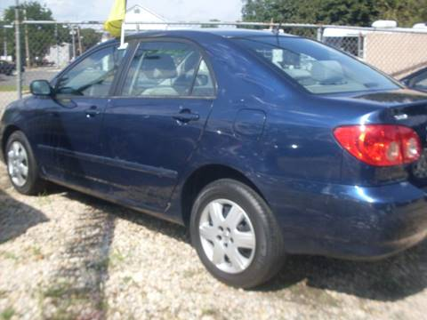 2005 Toyota Corolla for sale at Flag Motors in Islip Terrace NY