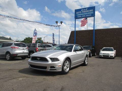 2013 Ford Mustang for sale in Center Line, MI