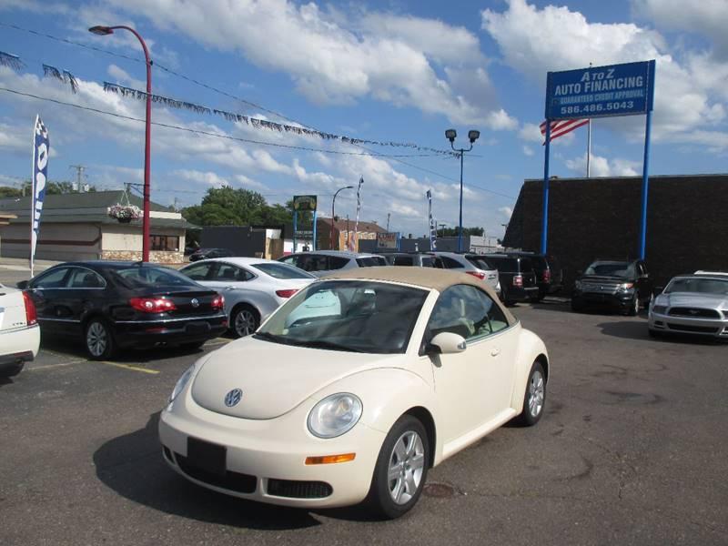 2007 Volkswagen New Beetle car for sale in Detroit