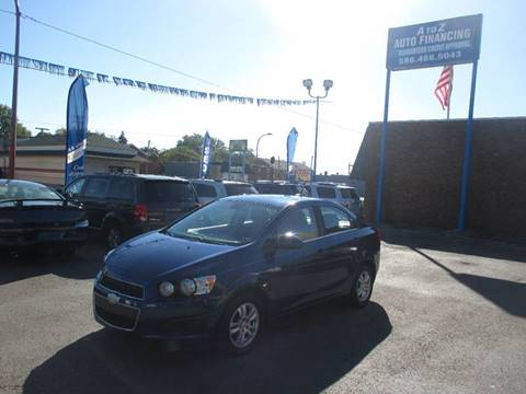 2013 Chevrolet Sonic for sale in Center Line, MI