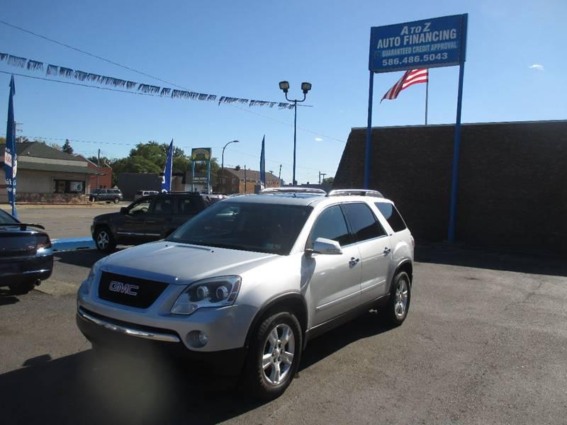 2009 Gmc Acadia car for sale in Detroit