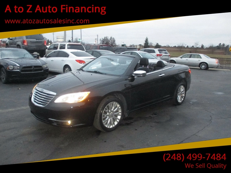 2011 Chrysler 200 Convertible car for sale in Detroit