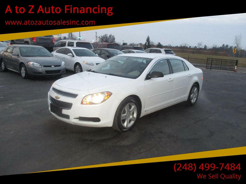 2010 Chevrolet Malibu car for sale in Detroit
