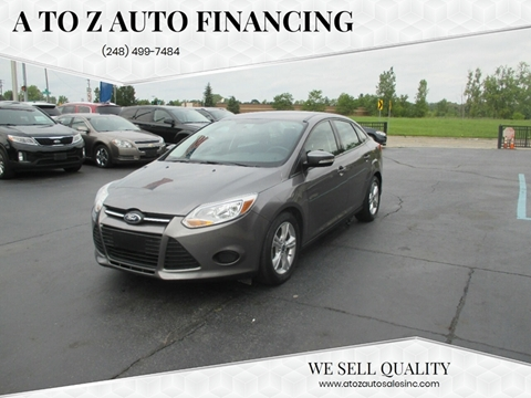 A to Z Auto Financing – Car Dealer in Waterford, MI