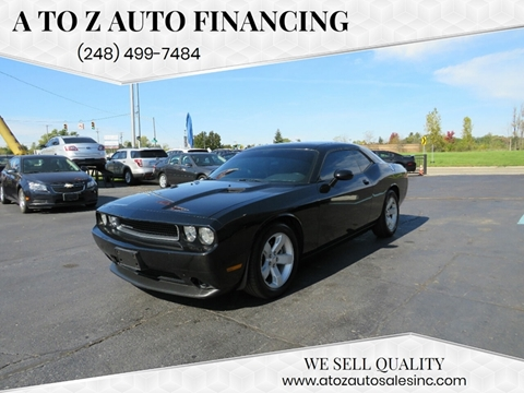 2012 Dodge Challenger for sale in Waterford, MI
