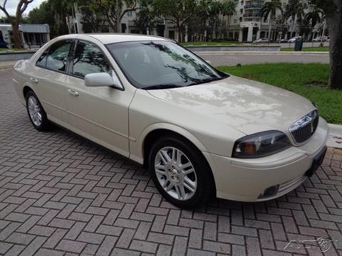 2003 Lincoln LS for sale in Fort Lauderdale, FL
