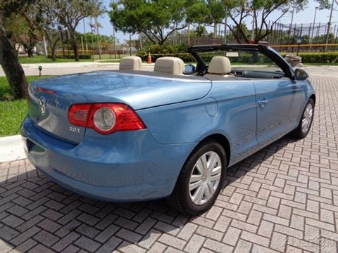2008 Volkswagen Eos for sale in Fort Lauderdale, FL