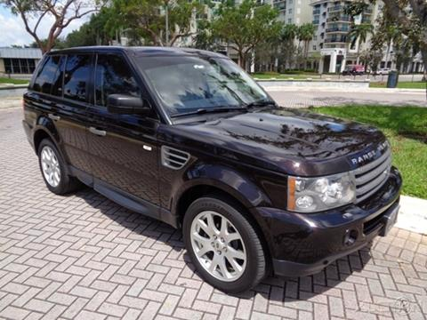 2009 Land Rover Range Rover Sport for sale in Fort Lauderdale, FL