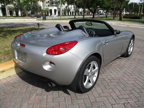 2007 Pontiac Solstice for sale in Fort Lauderdale, FL