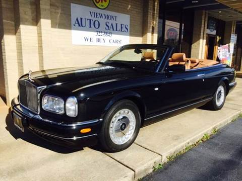 2001 Rolls-Royce Corniche for sale at Viewmont Auto Sales in Hickory NC