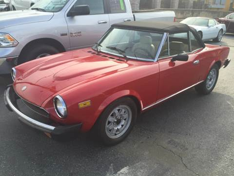 used fiat 124 spider for sale in oregon. Black Bedroom Furniture Sets. Home Design Ideas