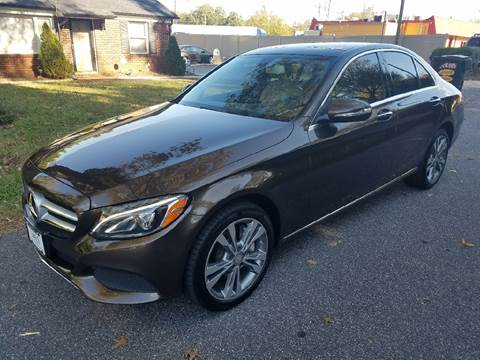 2015 Mercedes-Benz C-Class for sale at Viewmont Auto Sales in Hickory NC