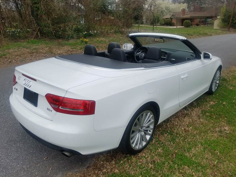 2010 Audi A5 20t Premium Plus 2dr Convertible In Hickory Nc