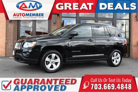 2013 Jeep Compass for sale in Leesburg, VA