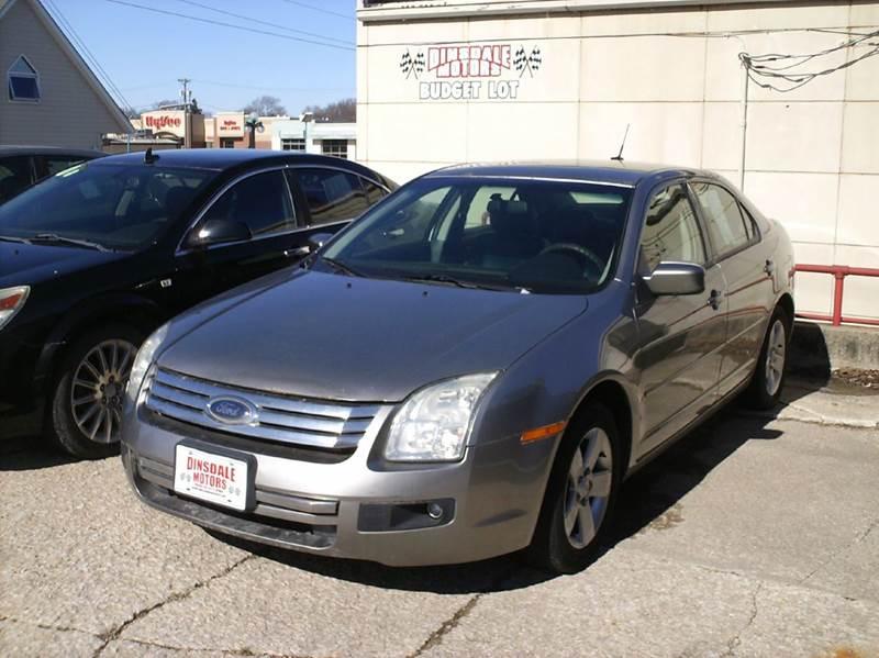 2008 Ford Fusion I4 SE 4dr Sedan - Webster City IA