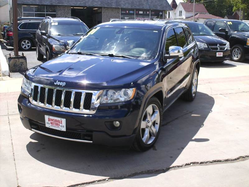 2011 jeep grand cherokee overland 4x4 4dr suv in webster city ia dinsdale motors. Black Bedroom Furniture Sets. Home Design Ideas