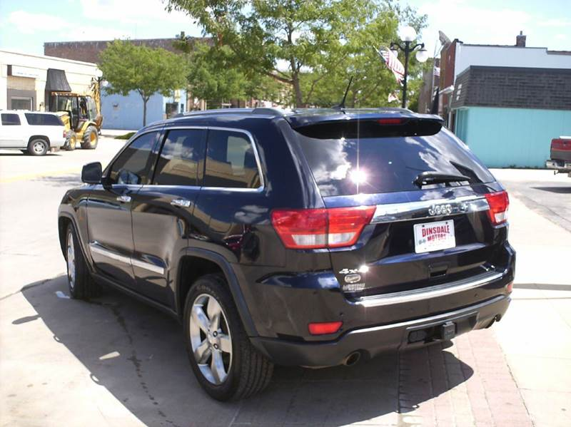 2011 Jeep Grand Cherokee Overland 4x4 4dr SUV - Webster City IA