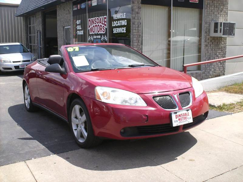 2007 Pontiac G6 GT 2dr Convertible - Webster City IA