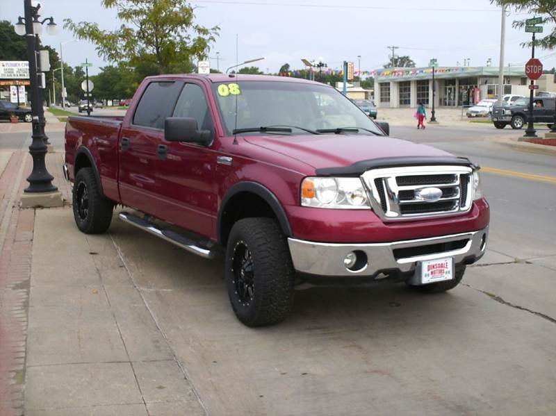 2008 Ford F-150 4x4 XLT 4dr SuperCrew Styleside 6.5 ft. SB - Webster City IA